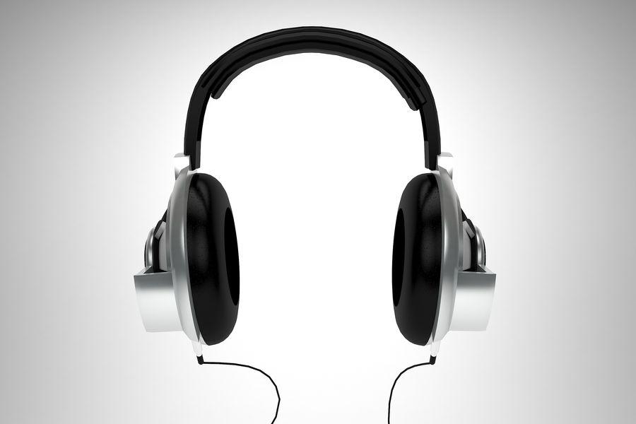 Słuchawki royalty-free 3d model - Preview no. 2