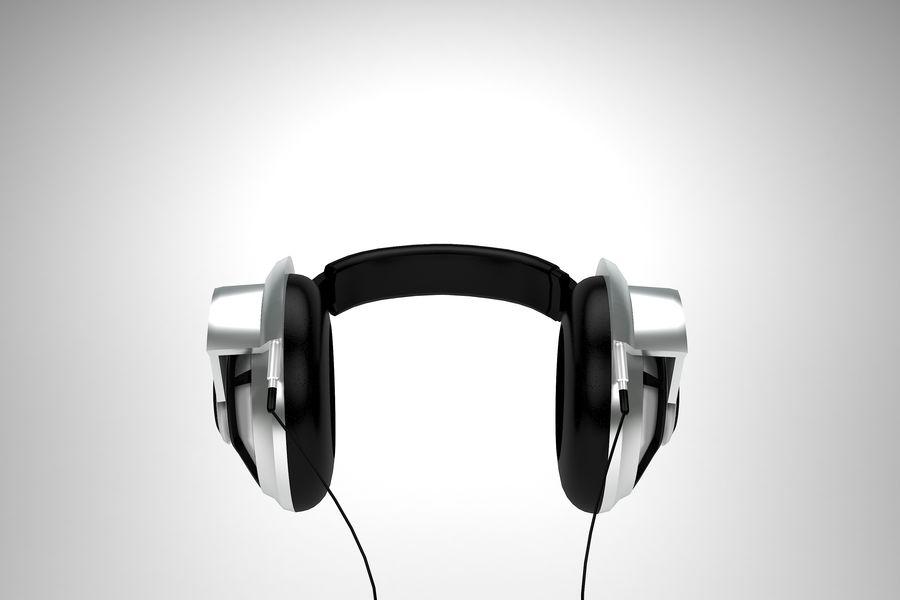Słuchawki royalty-free 3d model - Preview no. 5