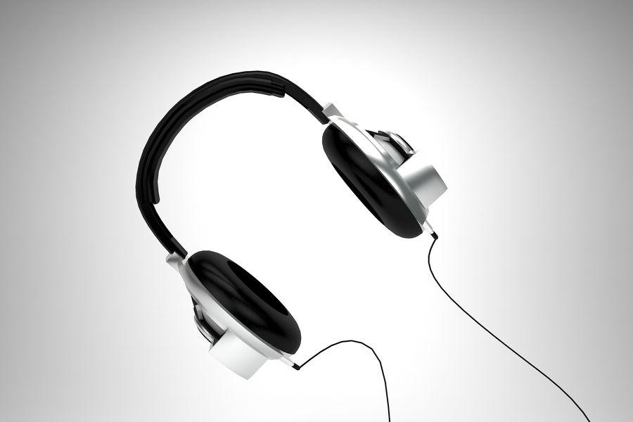 Słuchawki royalty-free 3d model - Preview no. 3