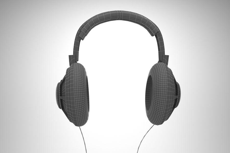 Słuchawki royalty-free 3d model - Preview no. 7