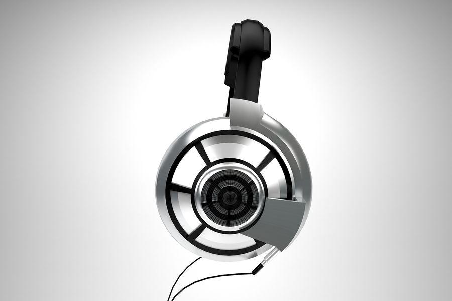 Słuchawki royalty-free 3d model - Preview no. 4