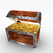 Treasure chest 3d model