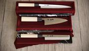 japoński tradycyjny zestaw noży 3d model