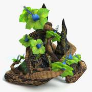 Fantasy Plant 2 3d model