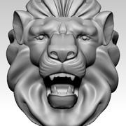 Roi lion 3d model