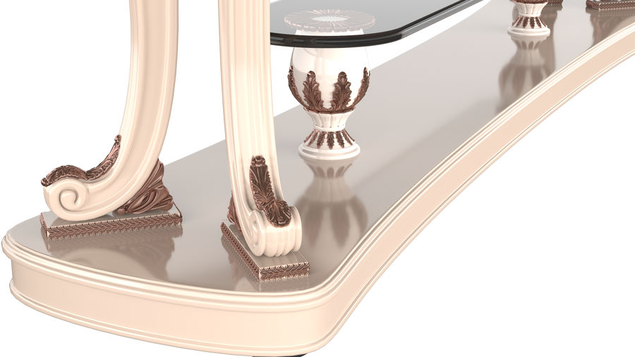 Muebles clásicos royalty-free modelo 3d - Preview no. 2