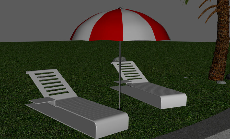 Swimming Pool royalty-free 3d model - Preview no. 4