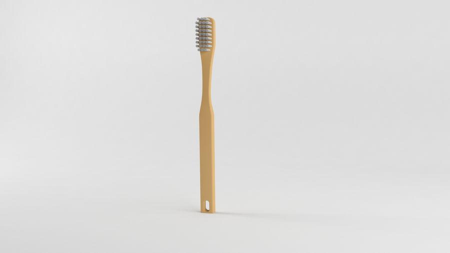 基本的な歯ブラシ royalty-free 3d model - Preview no. 1
