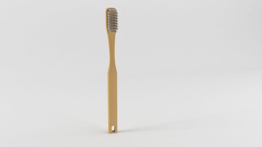 基本的な歯ブラシ royalty-free 3d model - Preview no. 2