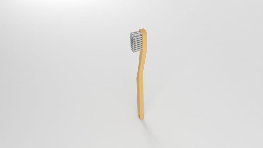 基本的な歯ブラシ royalty-free 3d model - Preview no. 5
