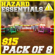 Hazard Essentials Pack 3d model