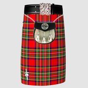 Kilt scozzese 3d model