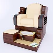 fotel pedicure 3d model