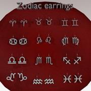 Zodiac örhängen 3d model