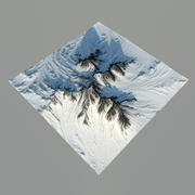 Mountains 3d model