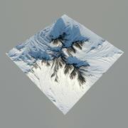 山 3d model