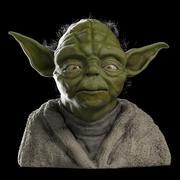 Yoda - buste 3d model