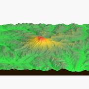 Monte Rainer elevazione 3d model