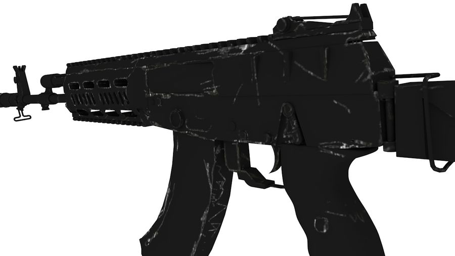 AK12 royalty-free 3d model - Preview no. 2