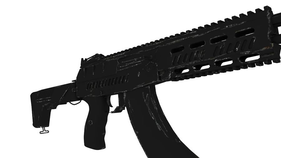 AK12 royalty-free 3d model - Preview no. 3