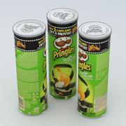 Pringles Panna Acida e Cipolla 165g 3d model
