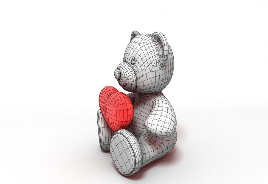 Teddy Bear Fur royalty-free 3d model - Preview no. 6