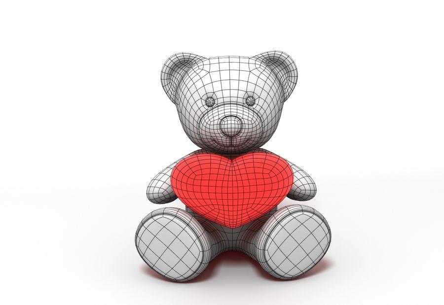 Teddy Bear Fur royalty-free 3d model - Preview no. 5