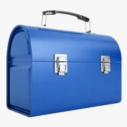 Metal Lunch Box 02 3d model