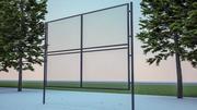Hekken en poorten 3d model