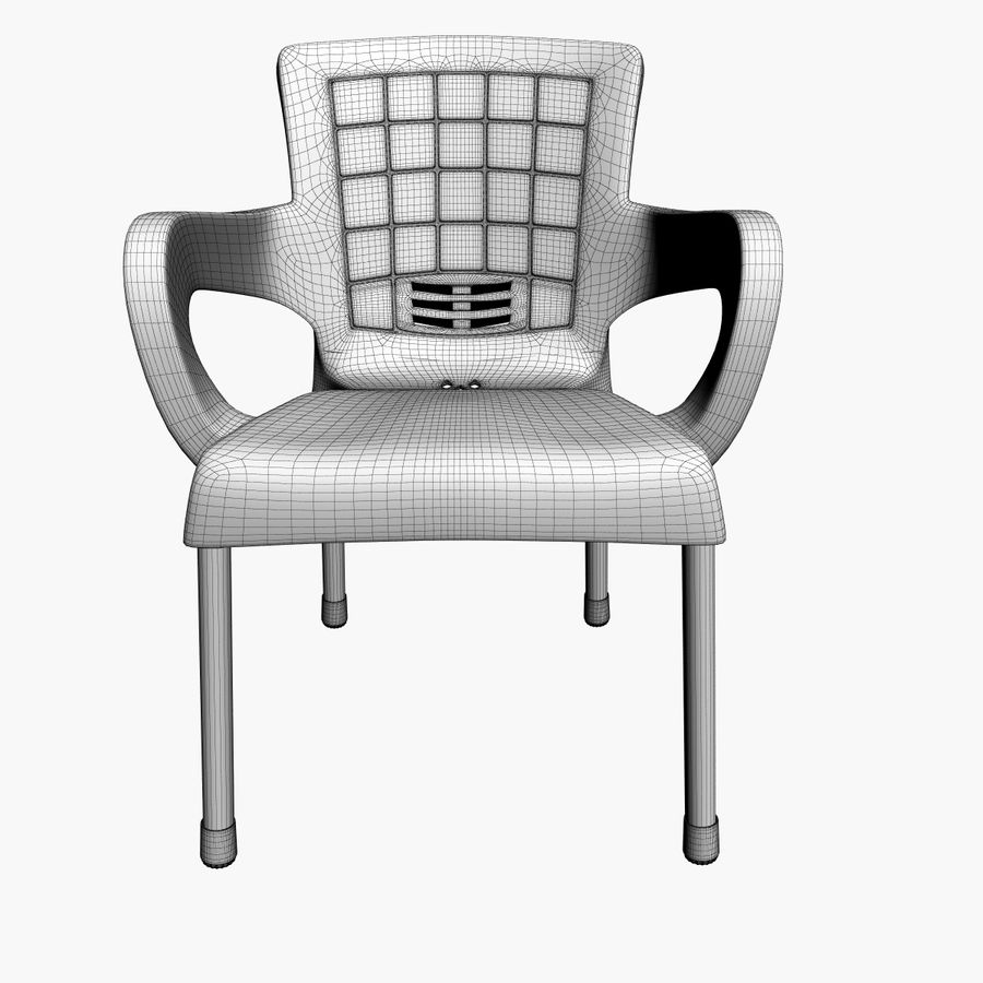 Galaxy Chair royalty-free 3d model - Preview no. 7
