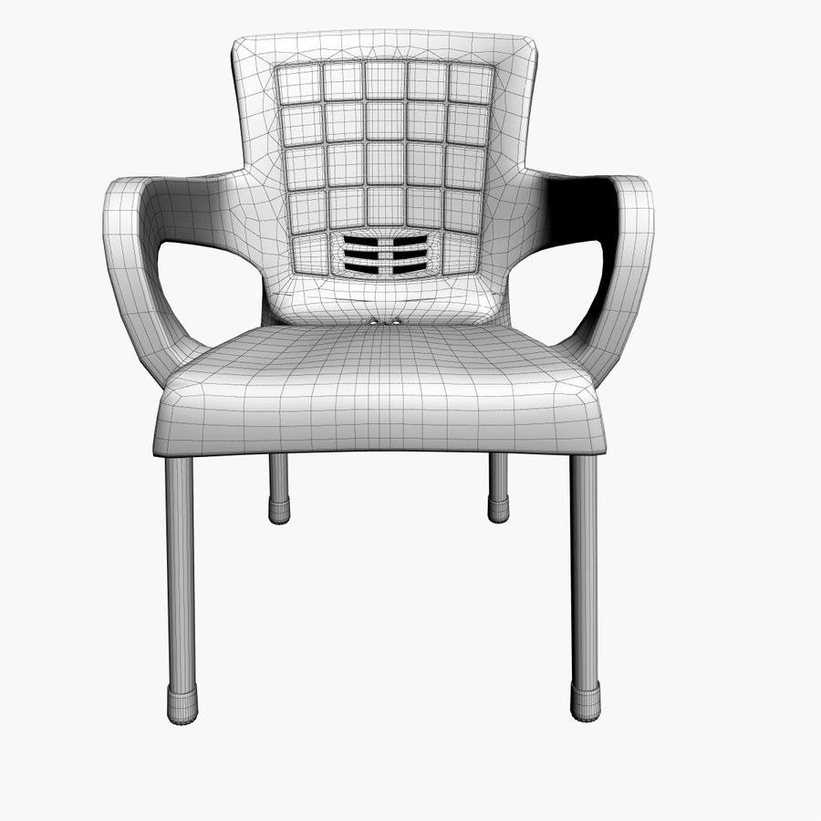 Galaxy Chair royalty-free 3d model - Preview no. 6