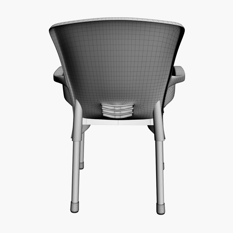 Galaxy Chair royalty-free 3d model - Preview no. 9