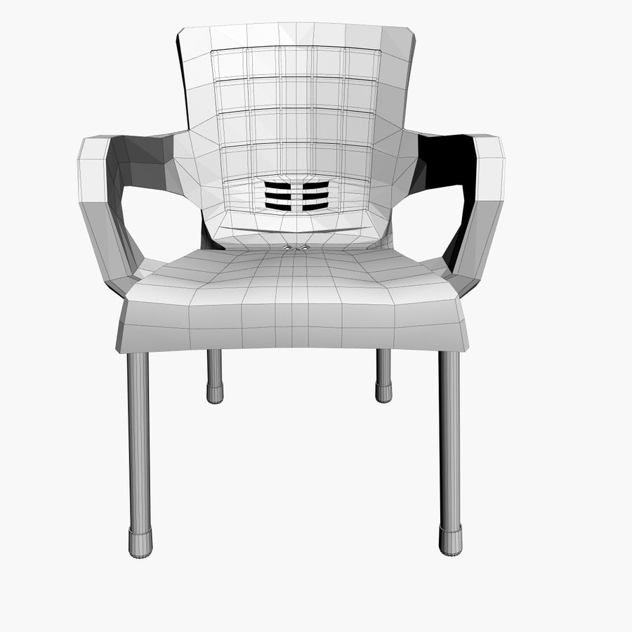 Galaxy Chair royalty-free 3d model - Preview no. 5