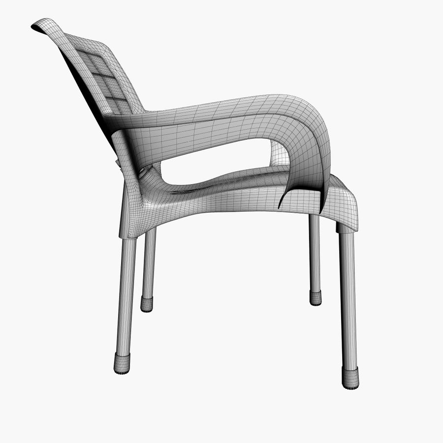 Galaxy Chair royalty-free 3d model - Preview no. 8