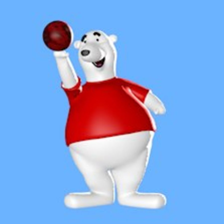 Urso polar royalty-free 3d model - Preview no. 2