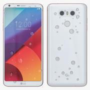LG G6 bianco 3d model