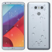 LG G6 Platinum 3d model