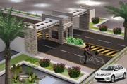 Haupteingang der Stadt 3d model