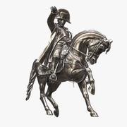Monumento de Napoleón modelo 3d
