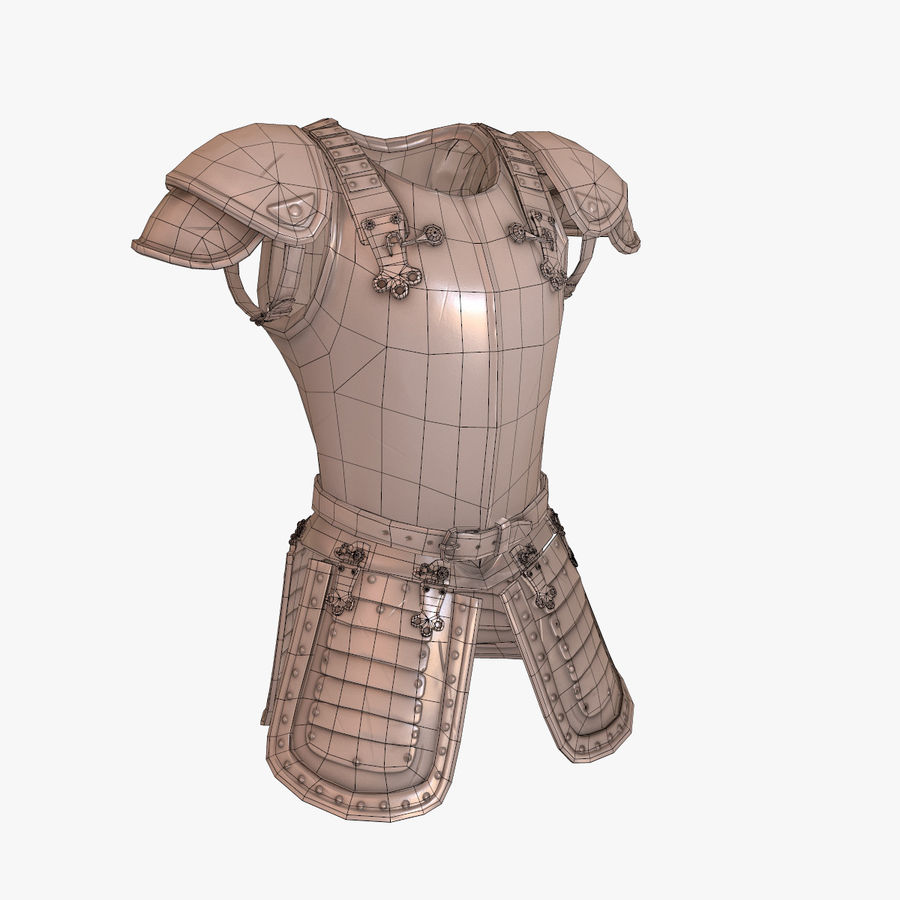 armor royalty-free 3d model - Preview no. 12