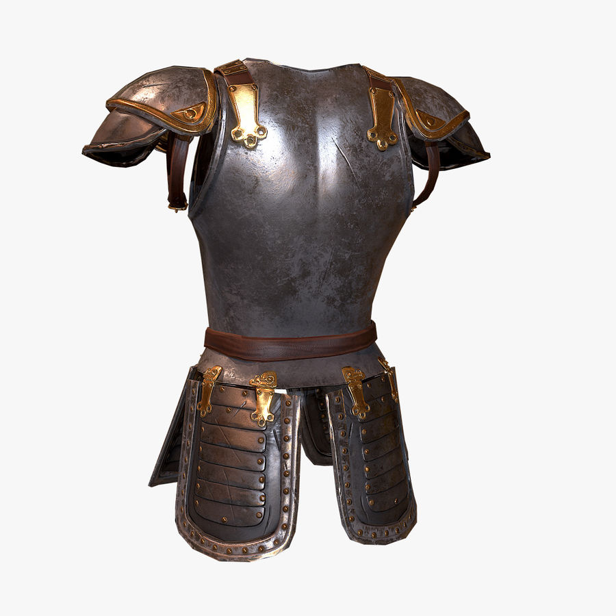 armor royalty-free 3d model - Preview no. 5
