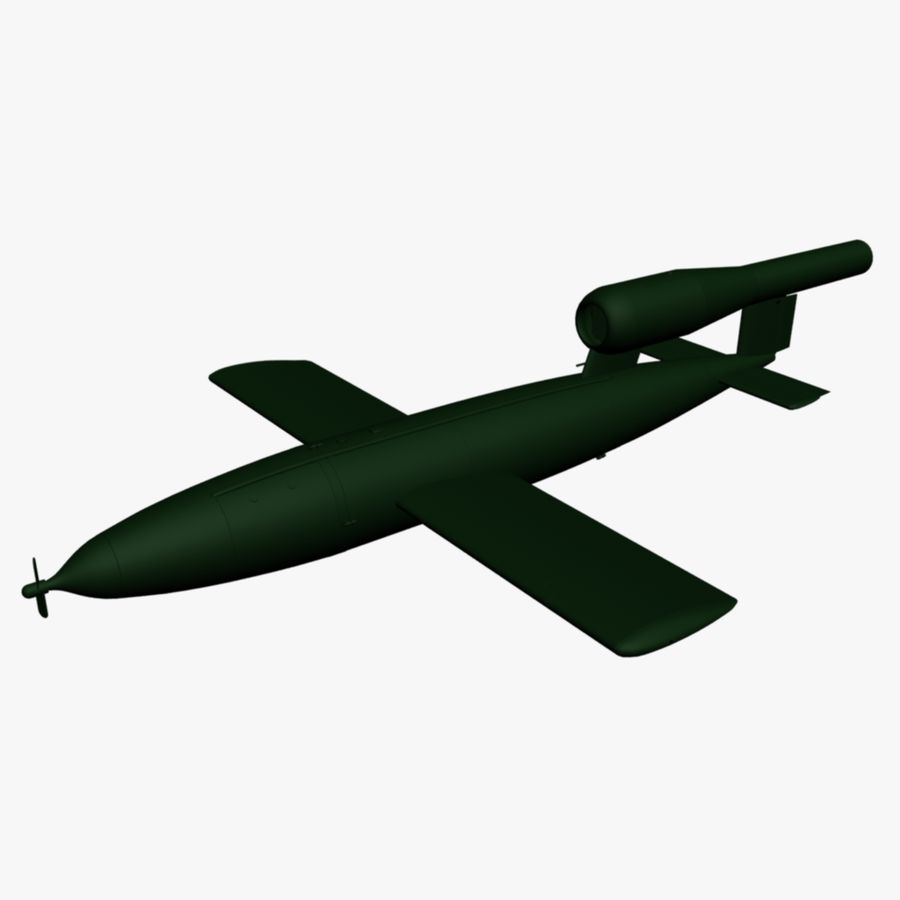 Buzz Bomb royalty-free 3d model - Preview no. 1