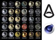Arnold着色器Metals 1.0 3d model