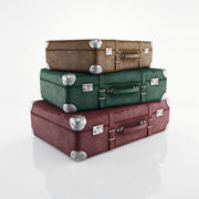 Stare walizki 3d model