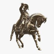 Monument of Napoleon in Cherbourg 3d model
