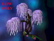Árvore de cristal 3d model
