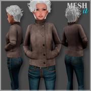 재킷 남성과 여성 3d model