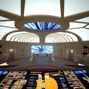 Star Trek Enterprise Main Bridge 3d model
