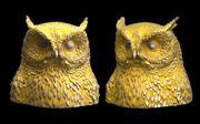 owl head 3d model