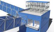 endüstriyel bina SIV 2 3d model